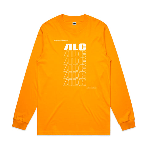 "ALC Records ""Made In California"" (Longsleeve Yellow Shirt)"