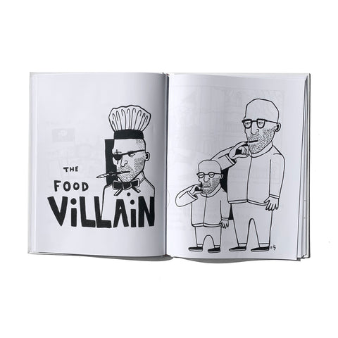 The Food Villain (Coloring Book)