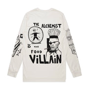 The Food Villain (Natural Longsleeve Shirt)