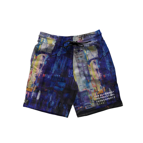 ALC Records: Warm & Cool (All-Over-Print Shorts)