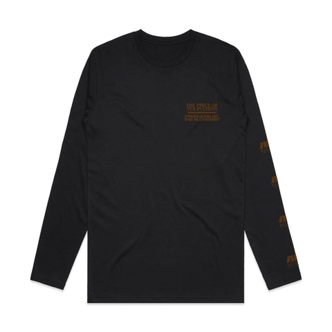 The Price Of Tea In China (Longsleeve Black Shirt)
