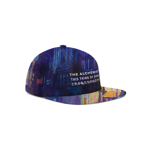 ALC Records: Warm & Cool (All-Over-Print Snapback Hat)