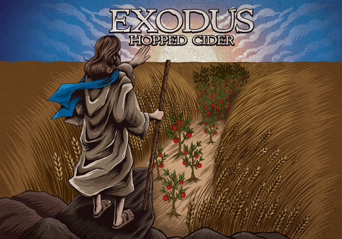 6-pack of EXODUS Hopped Cider
