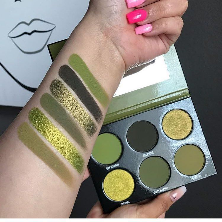 JUICY OLIVE PALETTE