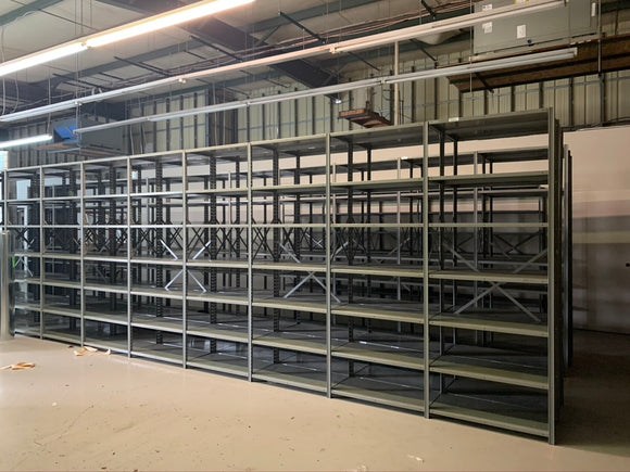 Used Lyons Shelving Units 36