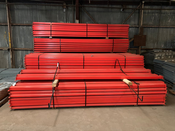 Used Pallet Rack Teardrop Beams 144