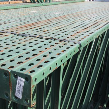 Used Pallet Rack Teardrop Uprights 42
