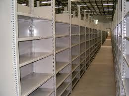 Used Deluxe Industrial Shelving