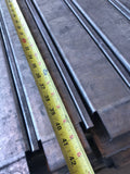 Used flanged pallet support bars