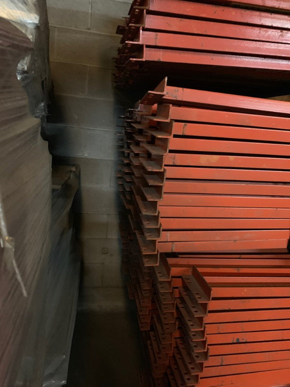 used structural pallet rack beams
