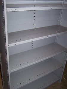 used republic steel shelving