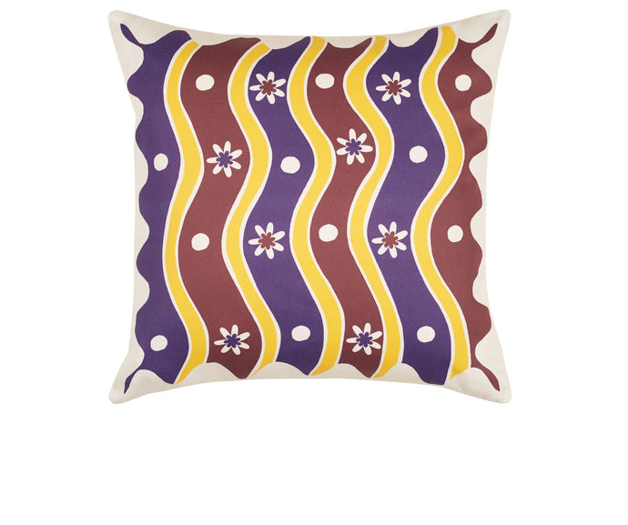 Blossom Swirl Cushion