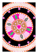 Load image into Gallery viewer, Wheel of Love Art Print
