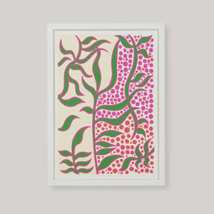 Green Vine Art Print