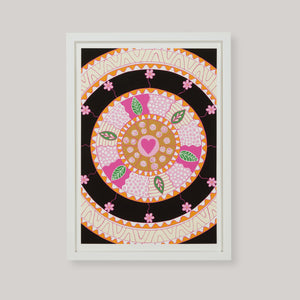 Wheel of Love Art Print