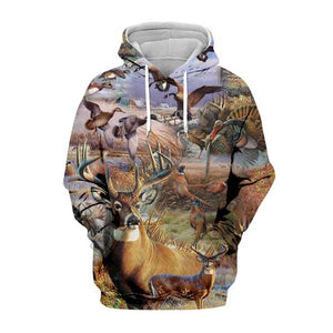 3D HUNTING Hoodies-T Shirt-Pullovers