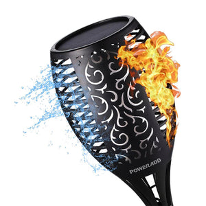 LED Solar Flame Dancing Light 96 LED Lights - Bright