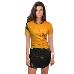 California Poppy 2 Women's T Shirt - Dress
