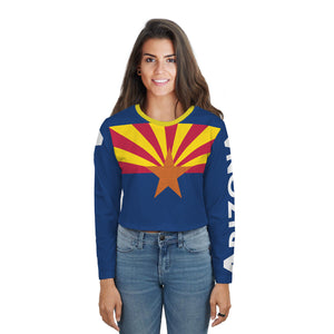 Arizona Long Sleeve Crop Top