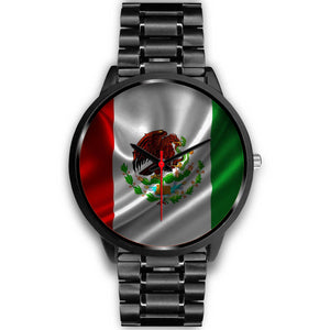 Mexico Watch - Black Stainless Steel - Japanese Movement