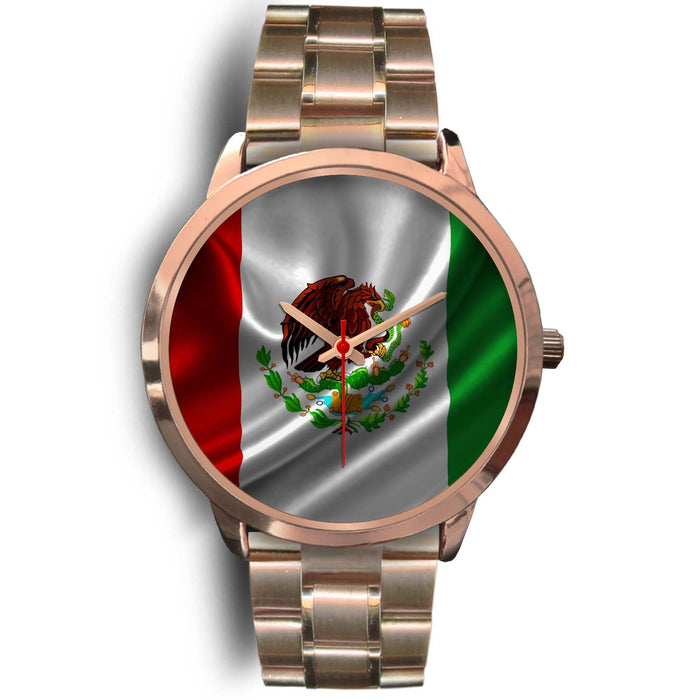 Mexico Watch - Rose Gold Colored - Japanese Movement