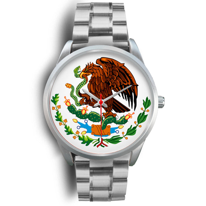 Mexico Eagle Watch - Stainless Steel - Japanese Movement