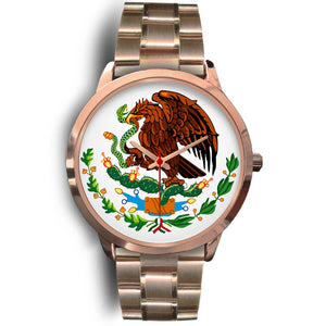 Mexico Eagle Watch - Rose Gold Colored - Japanese Movement