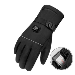 Heated Outdoor Gloves - Waterproof - Touch Screen - Battery Powered