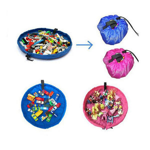Portable Toy Storage Bag Playing Mat 39.7in / 140cm