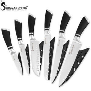 SOWOLL Brand High Quality Stainless Steel Knives