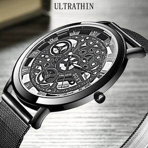 Men Mesh Belt Quartz Watches