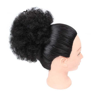 Puff Ponytail Extensions Bun