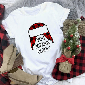 Plaid Christmas T Shirts