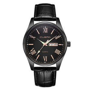 Mens Wrist Watch Leather Casual Dress