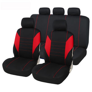 Car Seat Covers Fit Most Car, Truck, SUV, or Van 100% Breathable Front & Back Seat Set
