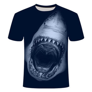 Fishing Digital Fishing T Shirt Great White