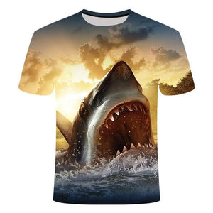 Fishing Digital Fishing T Shirt Jaws 2