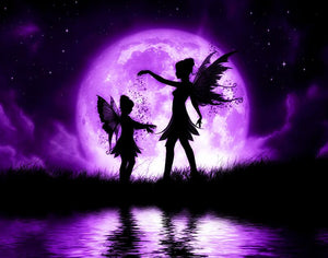 Fairies at night