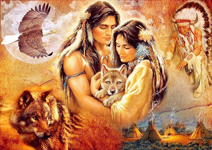Native Indian Couple
