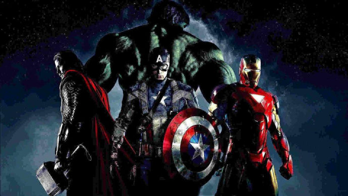 Marvel - Hulk, Captain American, Thor, Thanos