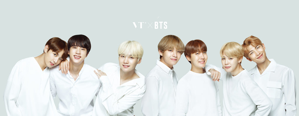 BTS Embarks On K-Beauty With VT Cosmetics