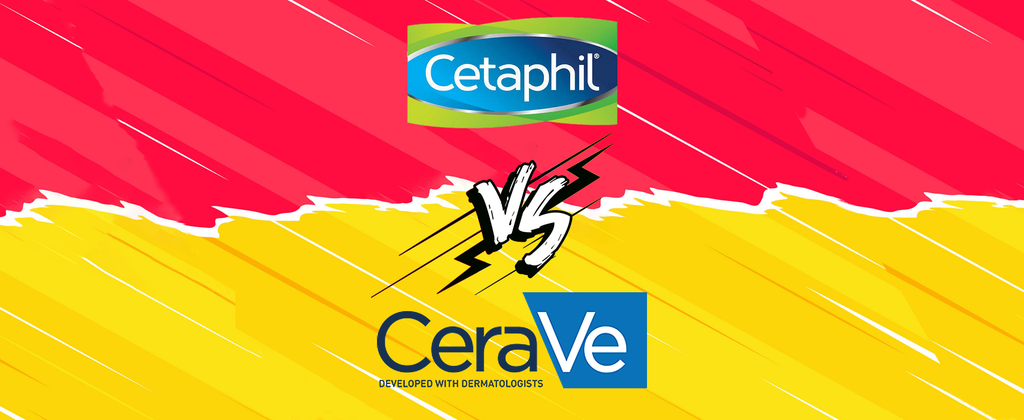 Battle of the Cleansers: CeraVe vs Cetaphil