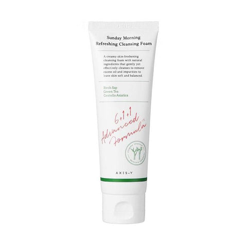 axis y sunday morning refreshing cleansing foam