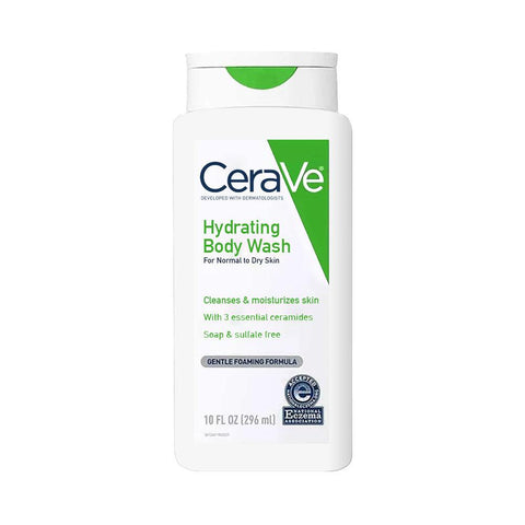CeraVe Hydrating Body Wash (296ml)