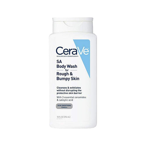 CeraVe SA Body Wash for Rough & Bumpy Skin (296ml)