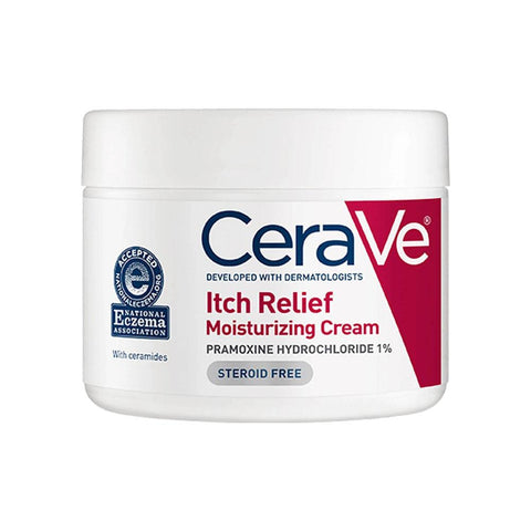 CeraVe Itch Relief Moisturizing Cream (340g)