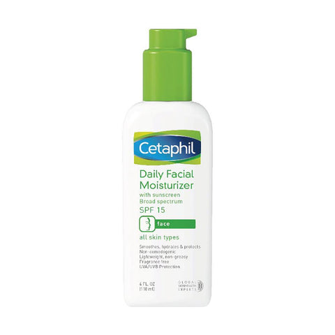 Cetaphil Daily Facial Moisturizer SPF15/ PA++ (118ml)