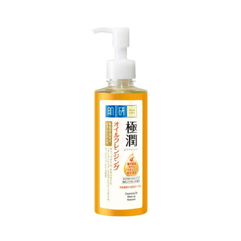 Hada Labo Gokujyun Super Hyaluronic Acid Hydrating Cleansing Oil Make-up Remover (200ml)