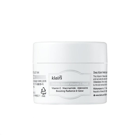 Klairs Freshly Juiced Vitamin E Mask (15ml)