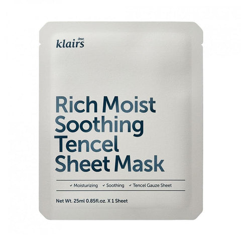 Klairs Rich Moist Soothing Tencel Sheet Mask (1pc)